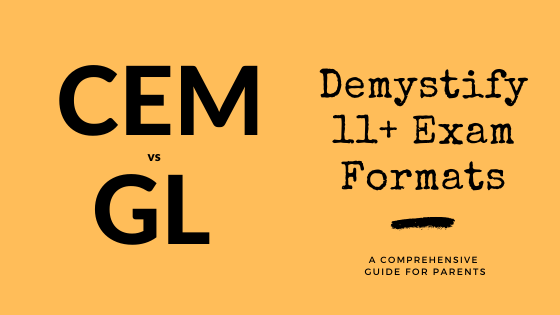 What is the difference between CEM and GL 11+ exam styles