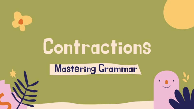what are contractions in grammar
