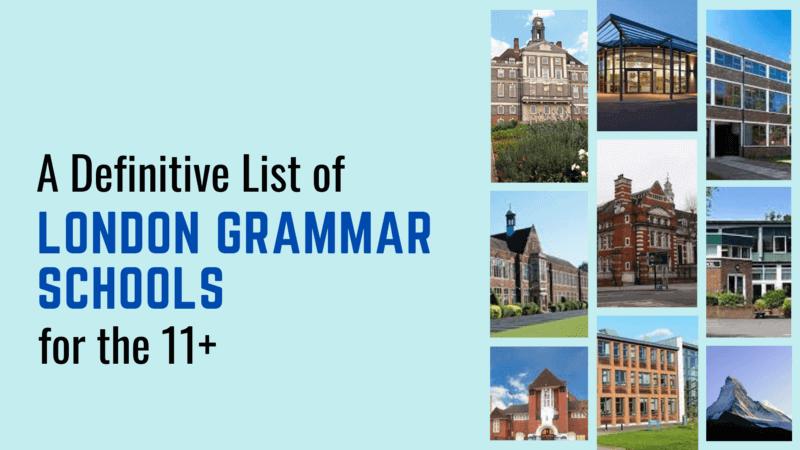 London grammar schools